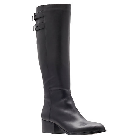 Buy KG by Kurt Geiger Valentina Calf Boots, Black Online at johnlewis.com