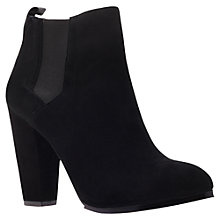 Buy KG by Kurt Geiger Stance Ankle Boots, Black Online at johnlewis.com