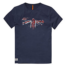 Buy Pepe Jeans Pete Logo T-Shirt Online at johnlewis.com