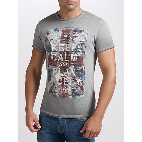 Buy Pepe Jeans Keep Calm T-Shirt Online at johnlewis.com
