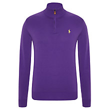 Buy Polo Golf by Ralph Lauren Zip Up Jumper Online at johnlewis.com