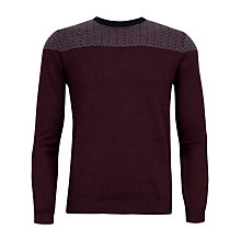 Buy Ted Baker Hombrey Wool Rich Crew Neck Jumper Online at johnlewis.com