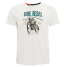 Buy Pepe Jeans Sam Bike Rebel T-Shirt Online at johnlewis.com