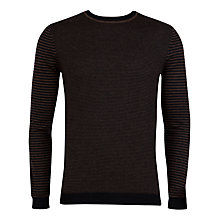 Buy Ted Baker Moseley Stripe Crew Neck Jumper Online at johnlewis.com