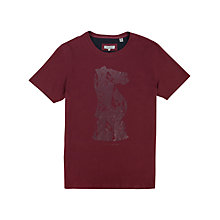 Buy Ted Baker Knight Print Crew Neck T-Shirt Online at johnlewis.com