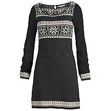 Buy Fat Face Bertie Knit Dress, Phantom Online at johnlewis.com