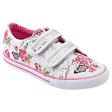 Buy Start-rite Botanical Sparkle Canvas Trainers Online at johnlewis.com