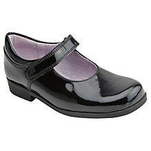 Buy Start-rite Samba Patent Leather Mary Jane Shoes, Black Online at johnlewis.com