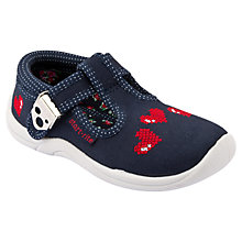 Buy Start-rite Cherish Heart Shoes, Navy Online at johnlewis.com