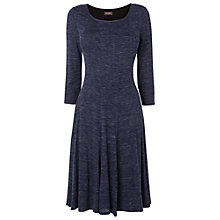 Buy Phase Eight Elva Jersey Dress, Blue Online at johnlewis.com