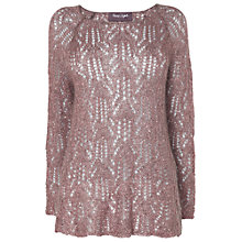 Buy Phase Eight Pixie Sequin Jumper, Heather Online at johnlewis.com