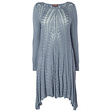 Buy Phase Eight Paula Pointelle Tunic, Slate Blue Online at johnlewis.com