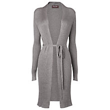 Buy Phase Eight Talia Textured Cardigan, Taupe Online at johnlewis.com