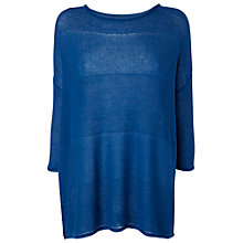 Buy Phase Eight Macy Jumper, Sapphire Online at johnlewis.com