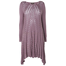 Buy Phase Eight Paula Pointelle Tunic, Heather Online at johnlewis.com