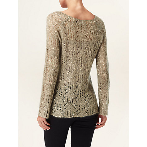 Buy Phase Eight Pixie Sequin Jumper Online at johnlewis.com