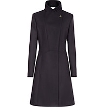 Buy Reiss Virginia Fit and Flare Coat Online at johnlewis.com