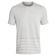 Buy Kin by John Lewis New Cotton T-Shirt, Grey Online at johnlewis.com