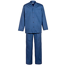 Buy John Lewis Cummersdale Print Pyjamas, Blue Online at johnlewis.com