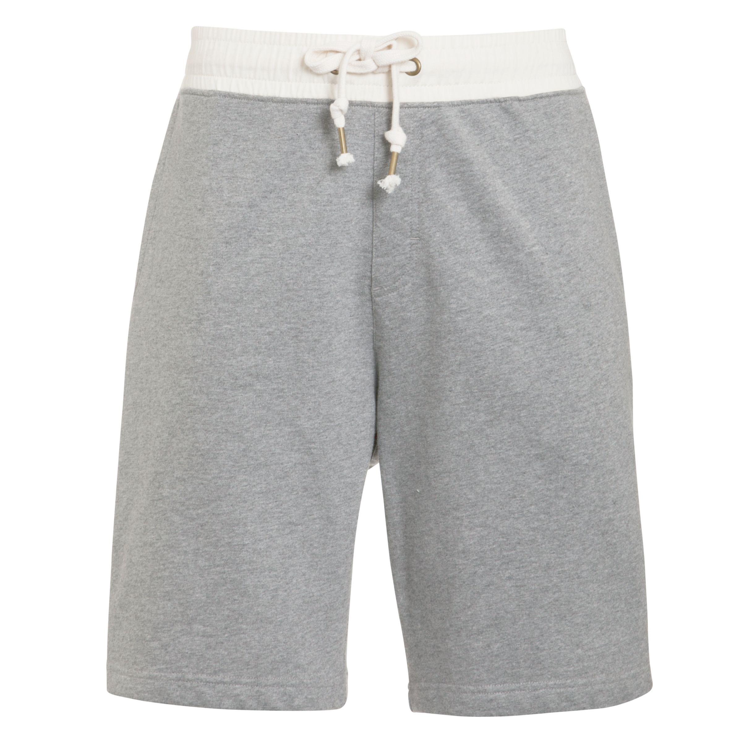 Kin by John Lewis Melange Jersey Shorts, Grey