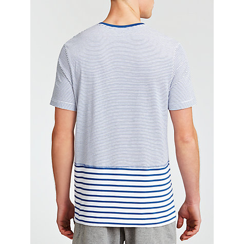 Buy Kin by John Lewis Stripe Short Sleeve T-Shirt, Navy Online at johnlewis.com