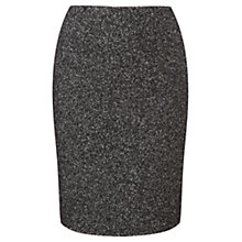 Buy Viyella Donegal Pencil Skirt, Black Online at johnlewis.com