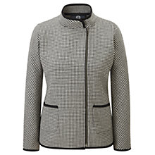Buy Viyella Double Faced Dogtooth Jacket, Black/Ivory Online at johnlewis.com