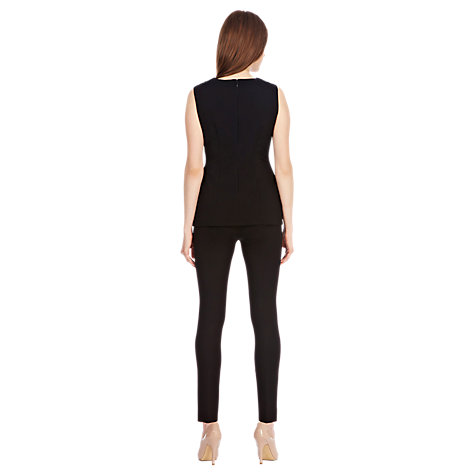 Buy Coast Sydney Super Slim Trousers, Black Online at johnlewis.com