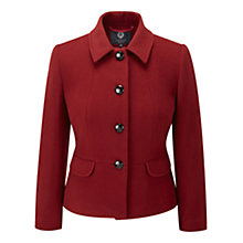 Buy Viyella Garnet Teddy Jacket, Garnet Online at johnlewis.com