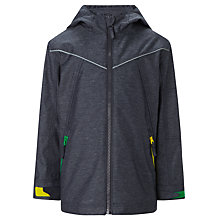 Buy John Lewis Boy Colour Accent Jacket, Navy Online at johnlewis.com