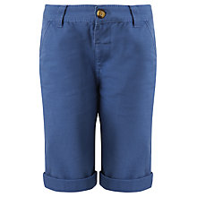 Buy John Lewis Boy Chino Shorts, Blue Online at johnlewis.com