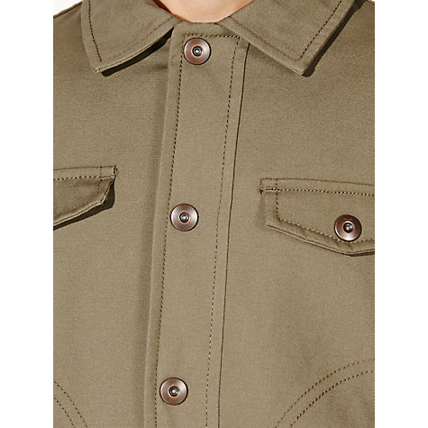 Buy John Lewis Boy Density Bomber Jacket, Khaki Online at johnlewis.com