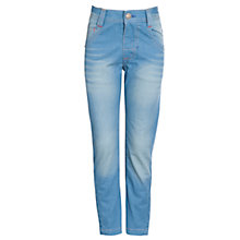 Buy John Lewis Boy Tinted Skinny Denim Jeans, Blue Online at johnlewis.com