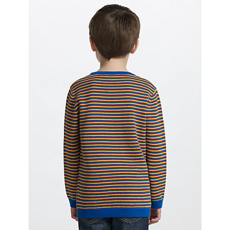 Buy John Lewis Boy Long Sleeve Striped Jumper, Multi Online at johnlewis.com