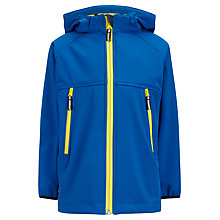 Buy John Lewis Boy Tech Contrast Zip Jacket, Blue Online at johnlewis.com