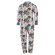 Buy Superman Onesie, Grey/Multi Online at johnlewis.com