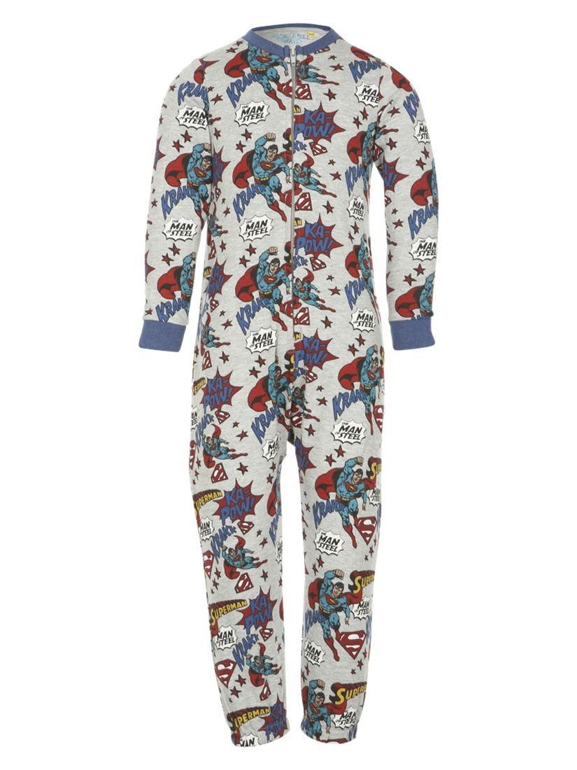 Superman Onesie, Grey/Multi