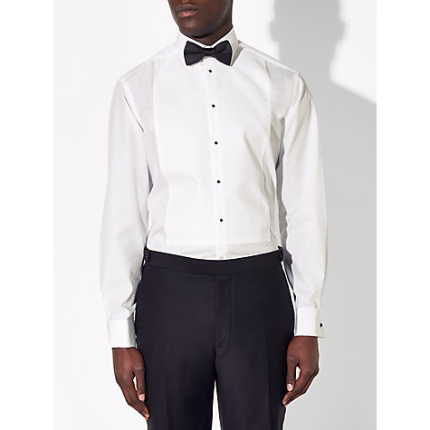 Buy John Lewis Marcello XL Sleeve Regular Fit Dress Shirt, White Online at johnlewis.com