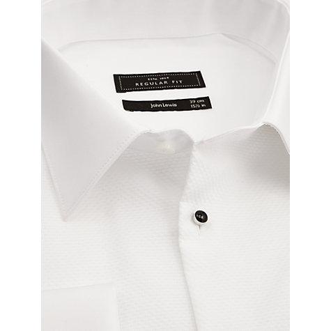 Buy John Lewis Marcella Point-Collar Classic-Fit Dress Shirt, White Online at johnlewis.com