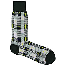 Buy Reiss Peltzer Multi Stripe Print Socks Online at johnlewis.com