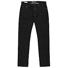 Buy Reiss Hampshire Straight Jeans, Black Online at johnlewis.com