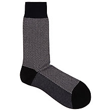 Buy Reiss Borzage Pattern Formalwear Socks Online at johnlewis.com