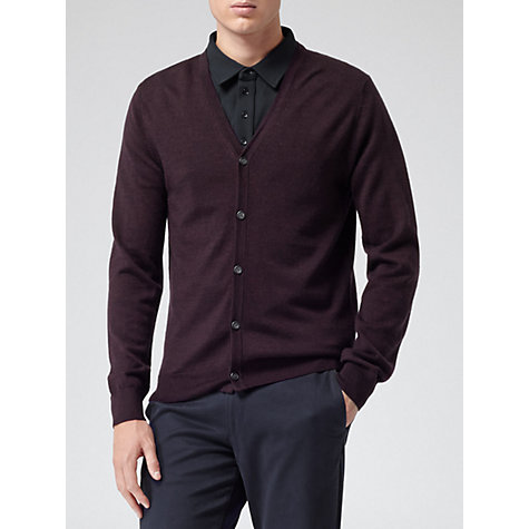 Buy Reiss Comet Merino Cardigan Online at johnlewis.com