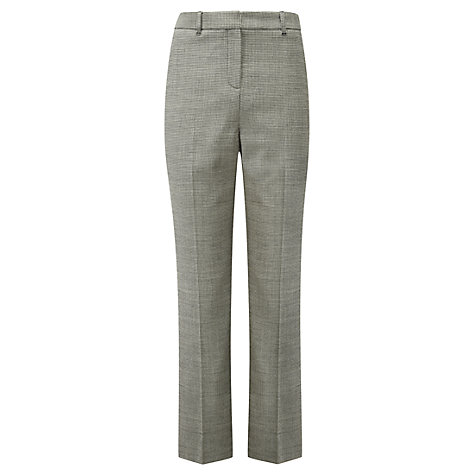 Buy Viyella Puppy Tooth Trousers, Black/Ivory Online at johnlewis.com