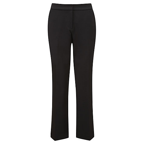 Buy Viyella Ponte Trousers, Black Online at johnlewis.com