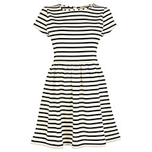 Buy Oasis Stripe Skater Dress, Multi Natural Online at johnlewis.com