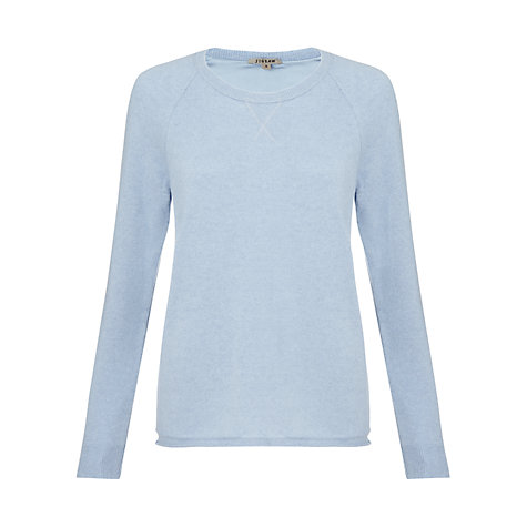 Buy Jigsaw Cashmere Raglan Sweatshirt Online at johnlewis.com