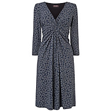 Buy Phase Eight Sara Pebble Dress, Navy / Grey Online at johnlewis.com