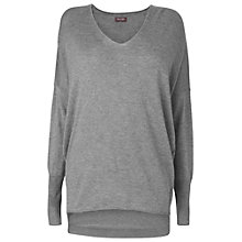 Buy Phase Eight Henrietta Jumper, Dark Marl Grey Online at johnlewis.com