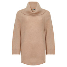 Buy Jigsaw Fine Merino Kimono Sleeve Jumper, Camel Online at johnlewis.com